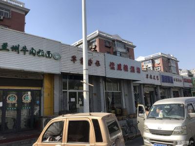红桥咸阳北路公产纯一层宽门头临街底商,紧邻马路人流量大